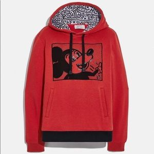 M COACH X KEITH HARRING hoodie Limited edition NWT